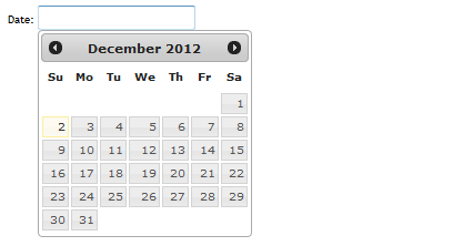 how to use jquery ui datepicker