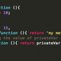 private methods and properties in Javascript