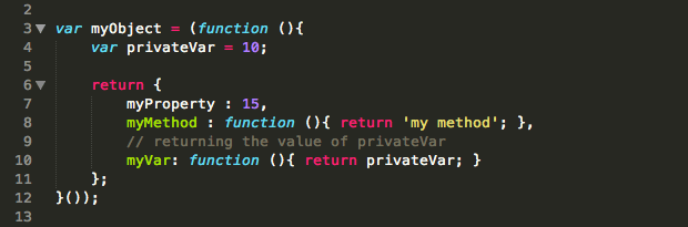 Objects and Privacy in Javascript